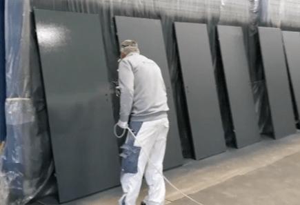 deuren spuiten schildersbedrijf